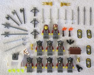 lego castle knights in Bulk Bricks & Lots