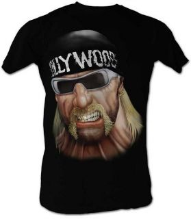Hulk Hogan Hulkamania Holywood Lightweight Adult T Shirt S XXL New