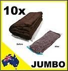 10 x Jumbo Vacuum Storage Bags 70 x 100 cm Large Seal Space Saver Bag