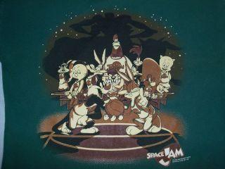 Michael Jordan Looney Tunes Warner Bros. Space Jam Movie Promotional T