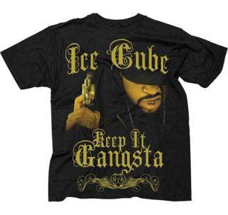 ICE CUBE   Keep It Gangsta   T SHIRT S M L XL 2XL Brand New   Official
