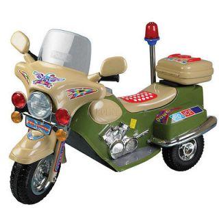 Lil Rider Green Machine Polic Cruiser Battery Operated