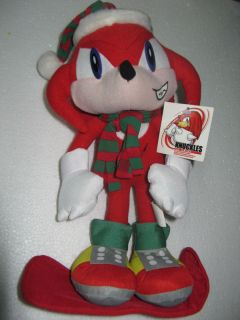 Sega Sonic the Hedgehog X Knuckles plush Adventure big