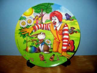 ronald mcdonald plates in Plates