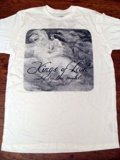 Kings of Leon Only by the Night White Concert Tour Tee Shirt by Chaser
