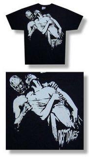 New Deftones Horror Dripping Logo X Large Black T shirt