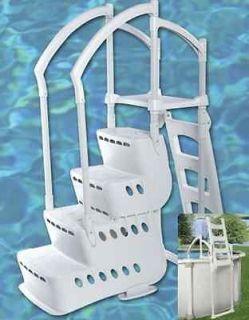 Innovaplas Biltmor Above Ground Pool Step with Ladder Entry System