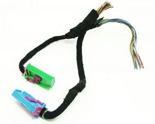 Instrument Gauge Cluster Wiring Plugs Pigtail 00 06 Audi TT MK1