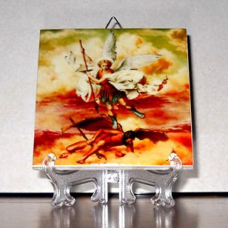 the Archangel CERAMIC TILE High Quality Hand Made from Italy Mod.1