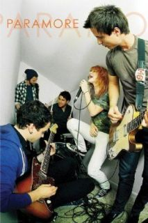 Paramore Jam Session Hayley Williams Music Poster A6761