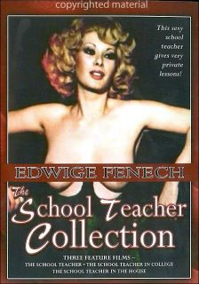 SCHOOL TEACHER COLLECTION RARE 3 Film Triple Feature DVD Edwige Fenech