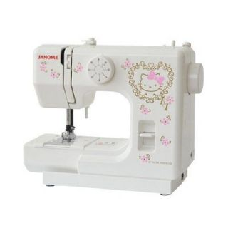 Hello Kitty   JANOME Sewing Machine KT 35 /new sanrio japan