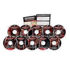 SUPREME 90 DAY 10 DVD SET GET INSANE ABS WITH SUPREME 90 DAY WORKOUT
