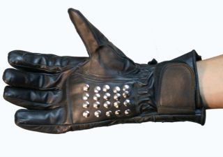 Motorcycle Leather Winter Biker Riding Gloves Heavy Duty (close out