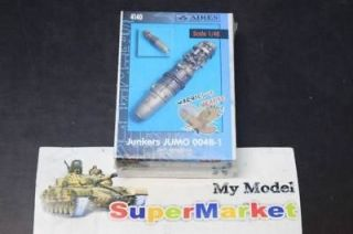 AIRES 1/48 4140 Junkers JUMO 004B 1 jet engine NIB
