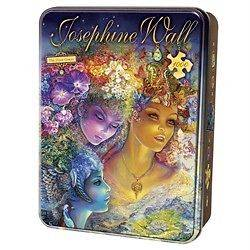 JOSEPHINE WALL COLLECTOR TIN PUZZLE THE THREE GRACES