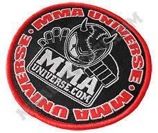 Logo Patch (Small)   Black [MMA UFC GI Brazilian Jiu Jitsu Kimono