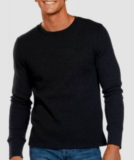 Mens Thermal Jockey® Waffle Crew Neck Shirt
