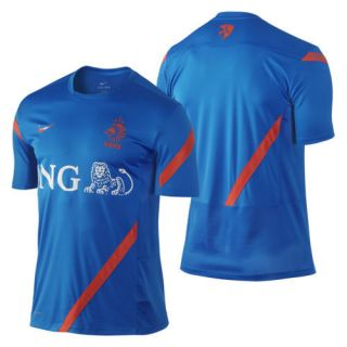 Holland   Netherlands EURO 2012 Soccer Training Jersey Brand New Blue