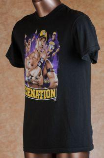 F1) M JOHN CENA CENATION WWE wwf WRESTLING mens basics adult SHIRT