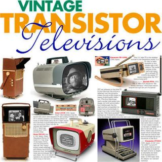 Televisions Philco Safari Sony JVC Sinclair Seiko TV Watch
