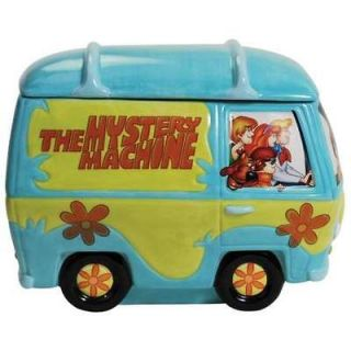 23312 Scooby Doo Mystery Machine Cookie Jar Collectible Kitchen