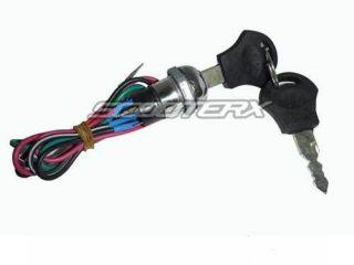 Wire Ignition Switch/key Gas Electric Scooter Go Kart pocket bike