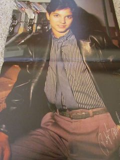 Jack Wagner Ralph Macchio teen magazine poster clipping Tiger Beat