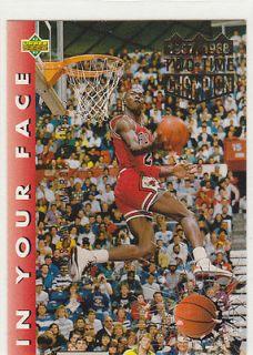 michael jordan slam dunk card