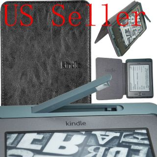 Ultra Slim Case Cover WITH Build In LED Light For  KINDLE TOUCH