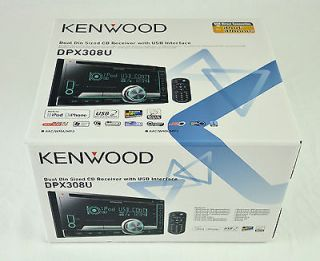 Kenwood DPX 308U Double Din WMA/ Car Audio CD Player DPX308U iPod