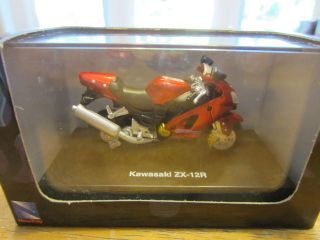 DIECAST KAWASAKI ZX 12R MINI BIKE MADE IN 2003
