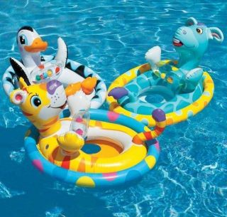 Cute Animal Baby Float Inflatable Swim Ring Seat Support Swimming Aid