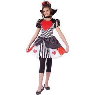 Child Queen of Hearts Alice In Wonderland Costume