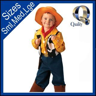 Platinum WOODY Costume   Licensed Kids Childrens Toy Story Fancy Dress
