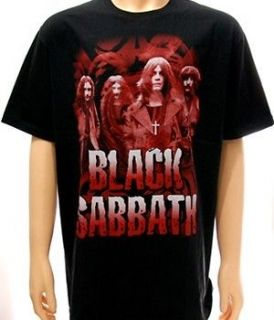 Black Sabbath Rider Rock Men Women T shirt Sz L Retro Vtg Metal Punk