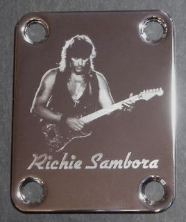 Guitar Parts NECK PLATE Custom Engraved Etched Fits Fender   RICHIE