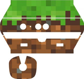 Xbox kinect MineCraft skin wrap Mine Craft