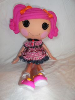 Doll BERRY JARS AND N JAM 12 Pink Hair ORANGE Bow FULL SIZE