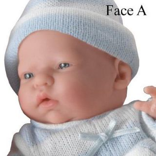 BERENGUER BOUTIQUE Mini La Newborn Caucasian REAL BOY Doll FACE A