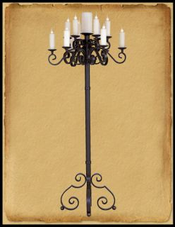 antique floor lamp in Home & Garden