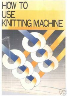 Machine Knitting etc