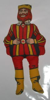 1970s Vintage Burger King RagDoll Cloth Doll 14