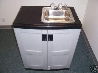 PORTABLE INDOOR/OUTDOOR SINK WITH HOT WATER