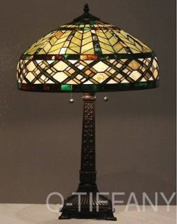 tiffany style stained glass lamp angel with lute. Black Bedroom Furniture Sets. Home Design Ideas