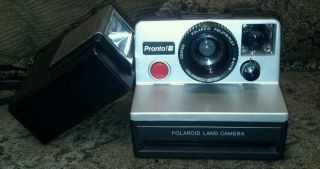 Polaroid automatic land camera ProntoB plus ITT magicflash