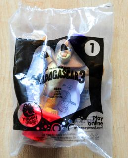 2012 Mcdonalds MADAGASCAR 3   #1 ALEX Happy Meal Toy New in Package