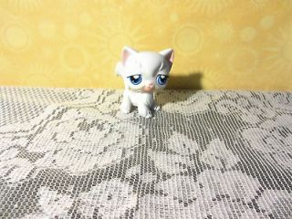 LITTLEST PET SHOP WHITE LONG HAIR KITTY CAT #9 LPS59