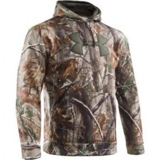 Armour UA Mens Camo Big Logo Hunting Hoody Realtree AP All Sizes
