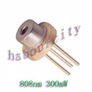 808nm 300mW High Power Burning IR Laser Diode DIY Lab